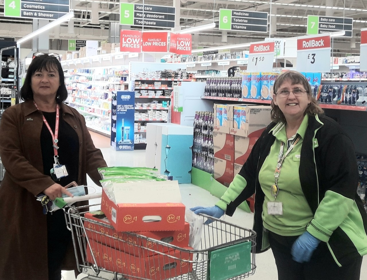 Activity packs for local hospital | Asda Westbrook