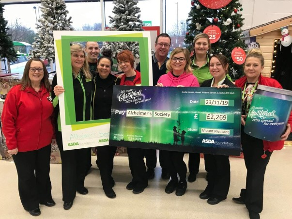 Christmas grant from Asda Mount Pleasant in Hull