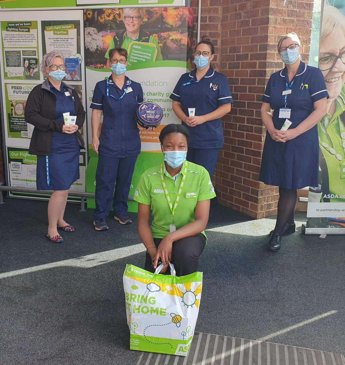 Treats for our nurses | Asda Killingbeck