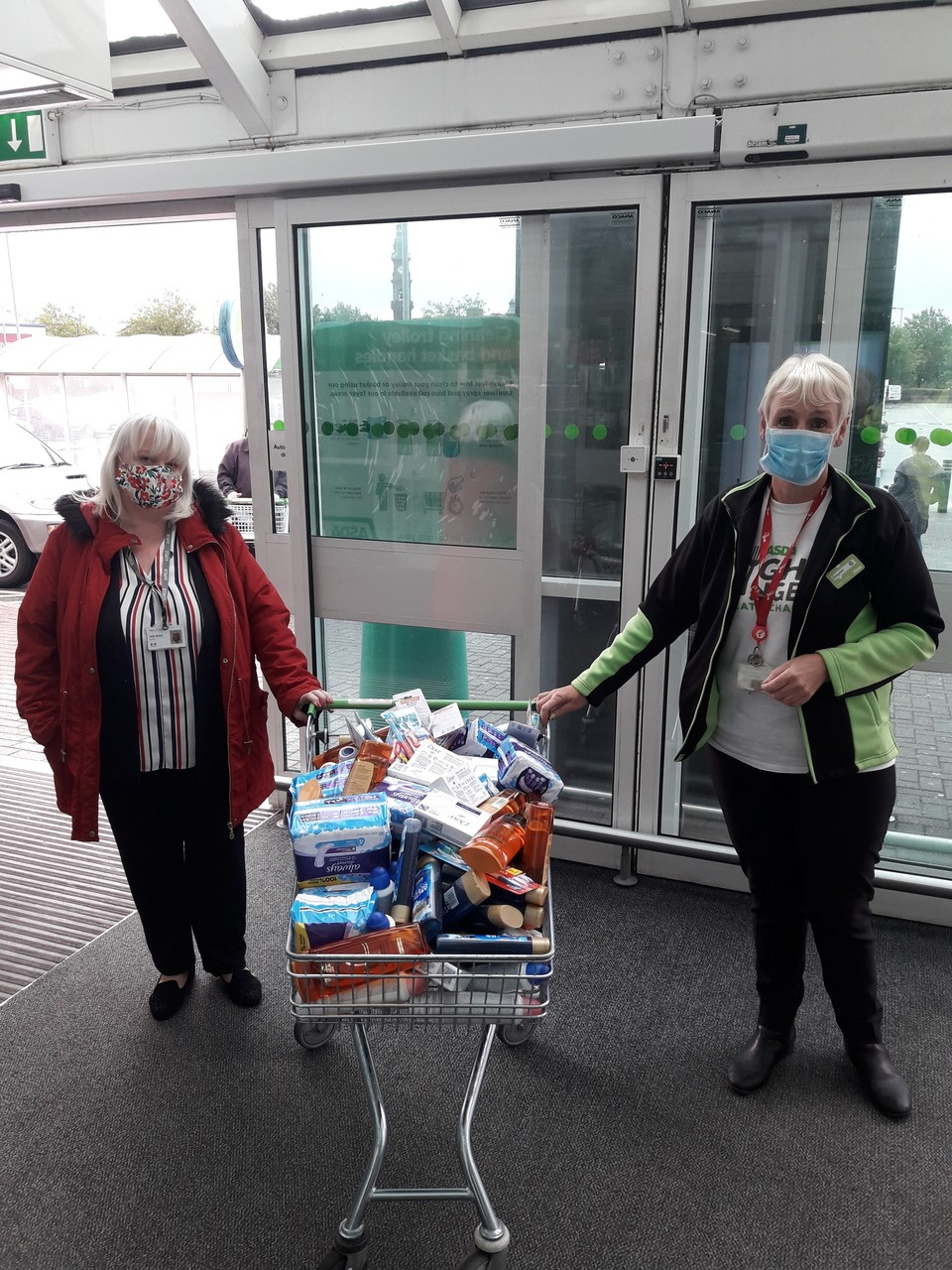 Donation to YMCA | Asda St Helens