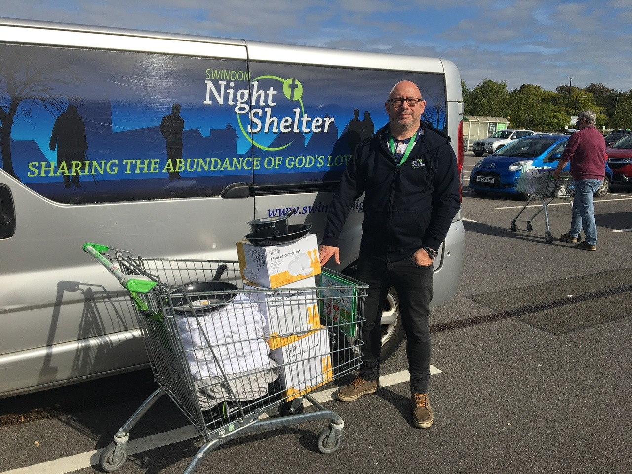 Supporting Swindon Night Shelter | Asda Swindon Haydon