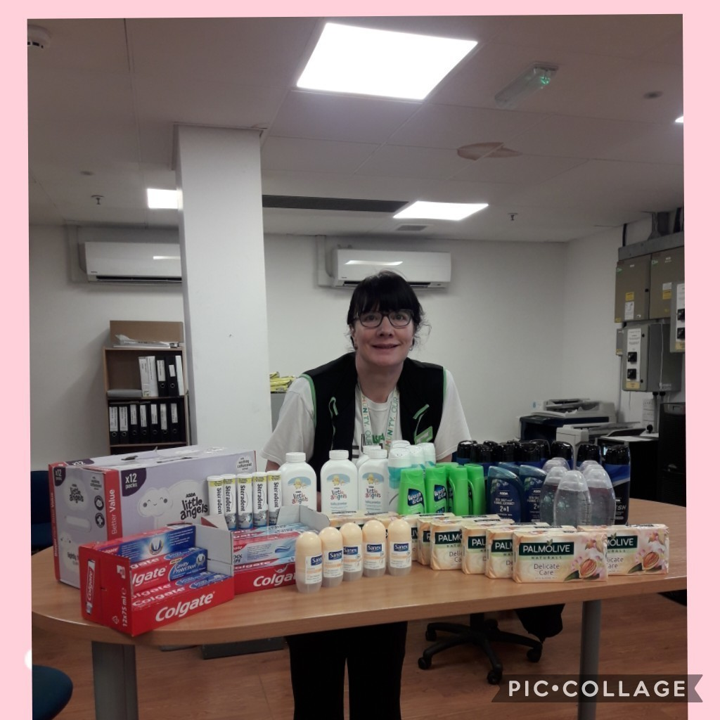 Donation of toiletries for favourdale residential care home  | Asda Colne