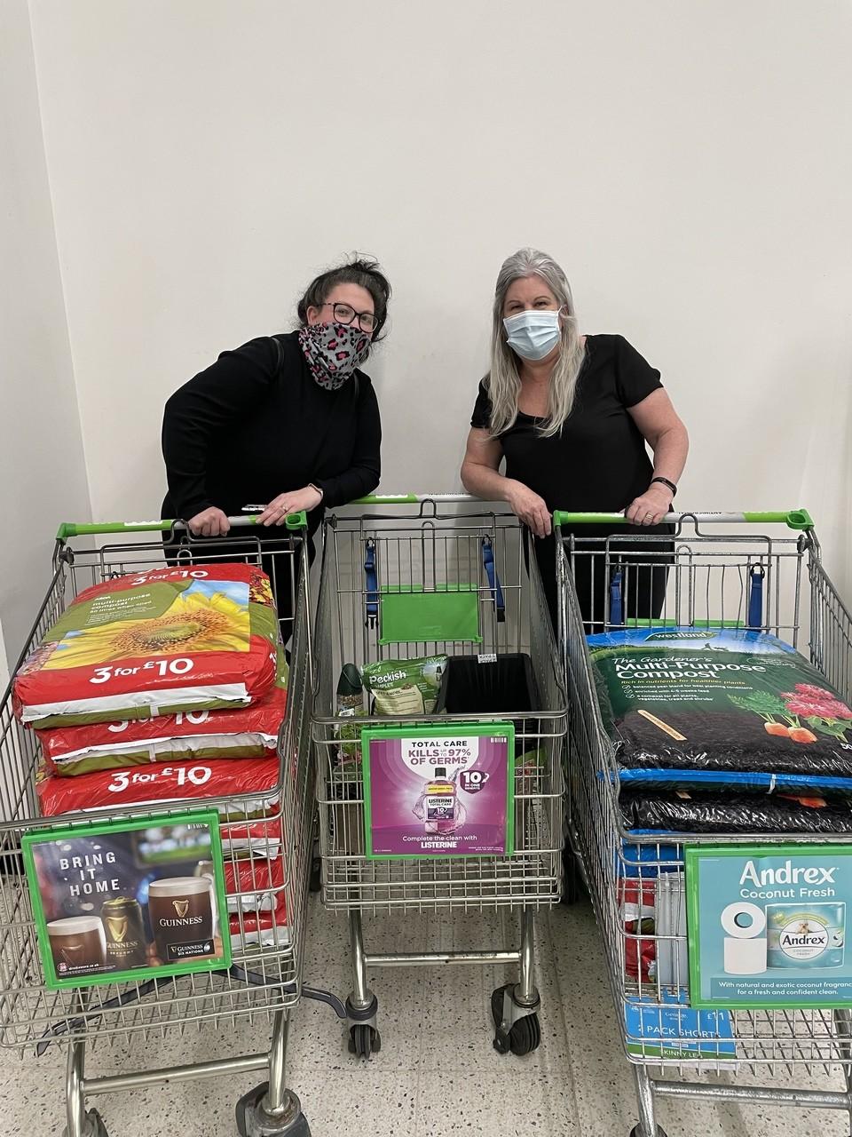 Carousel Nursery Donation | Asda Portsmouth