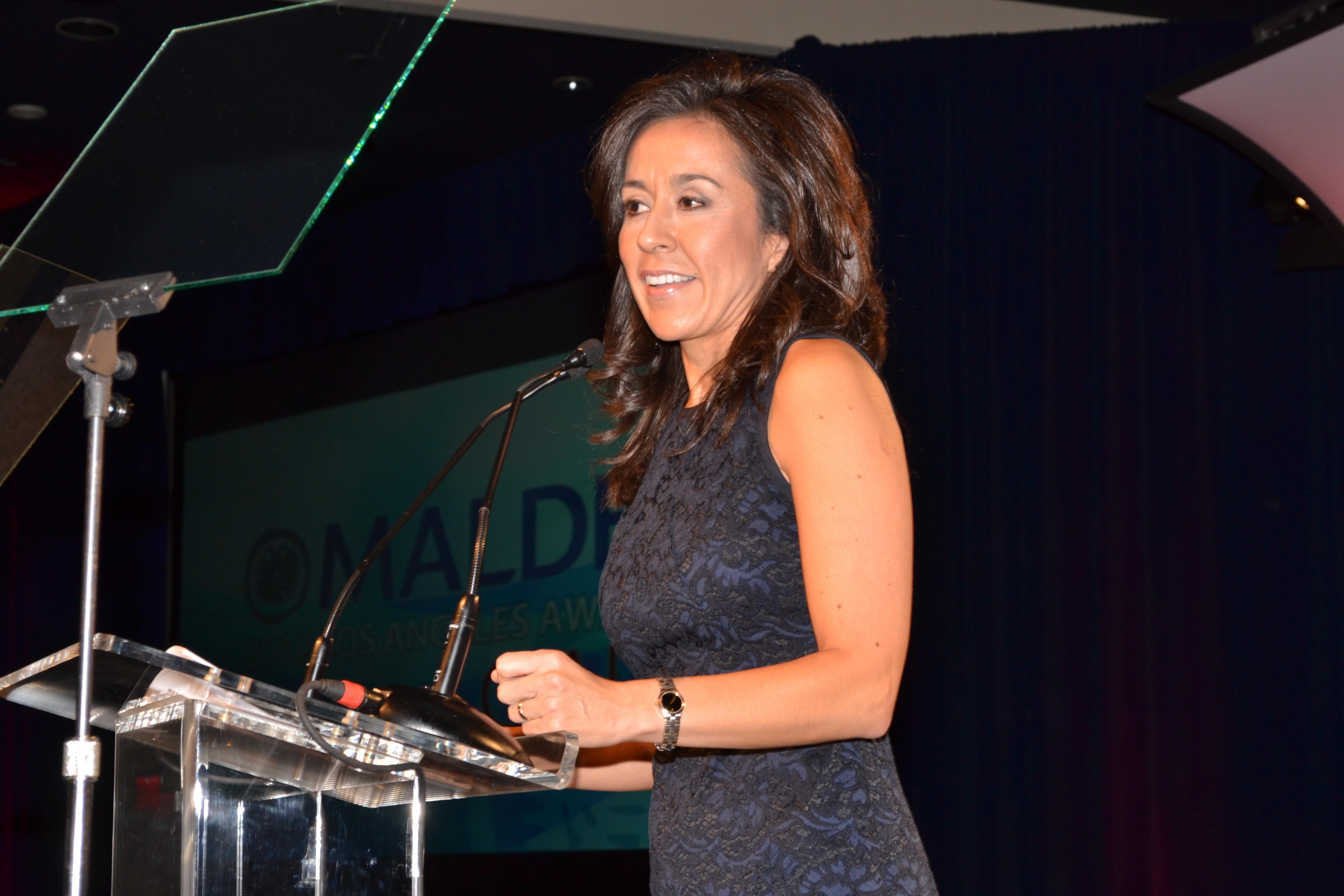 Gisel Ruiz MALDEF Gala 2012