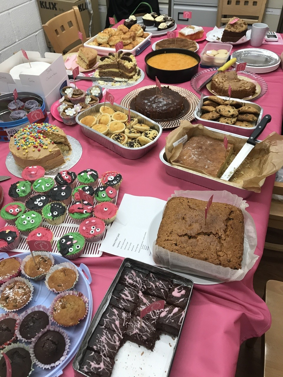 Gillingham Bake Off for Tickled Pink | Asda Gillingham