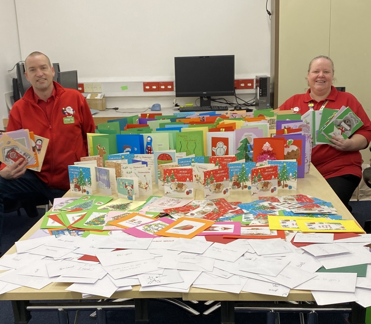 Amazing response to Christmas card appeal | Asda Gosport