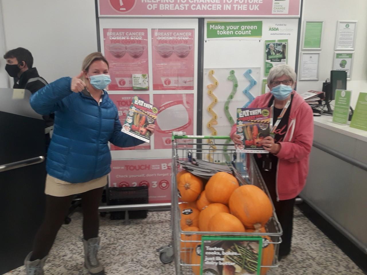 Pumpkin fun | Asda Bedminster