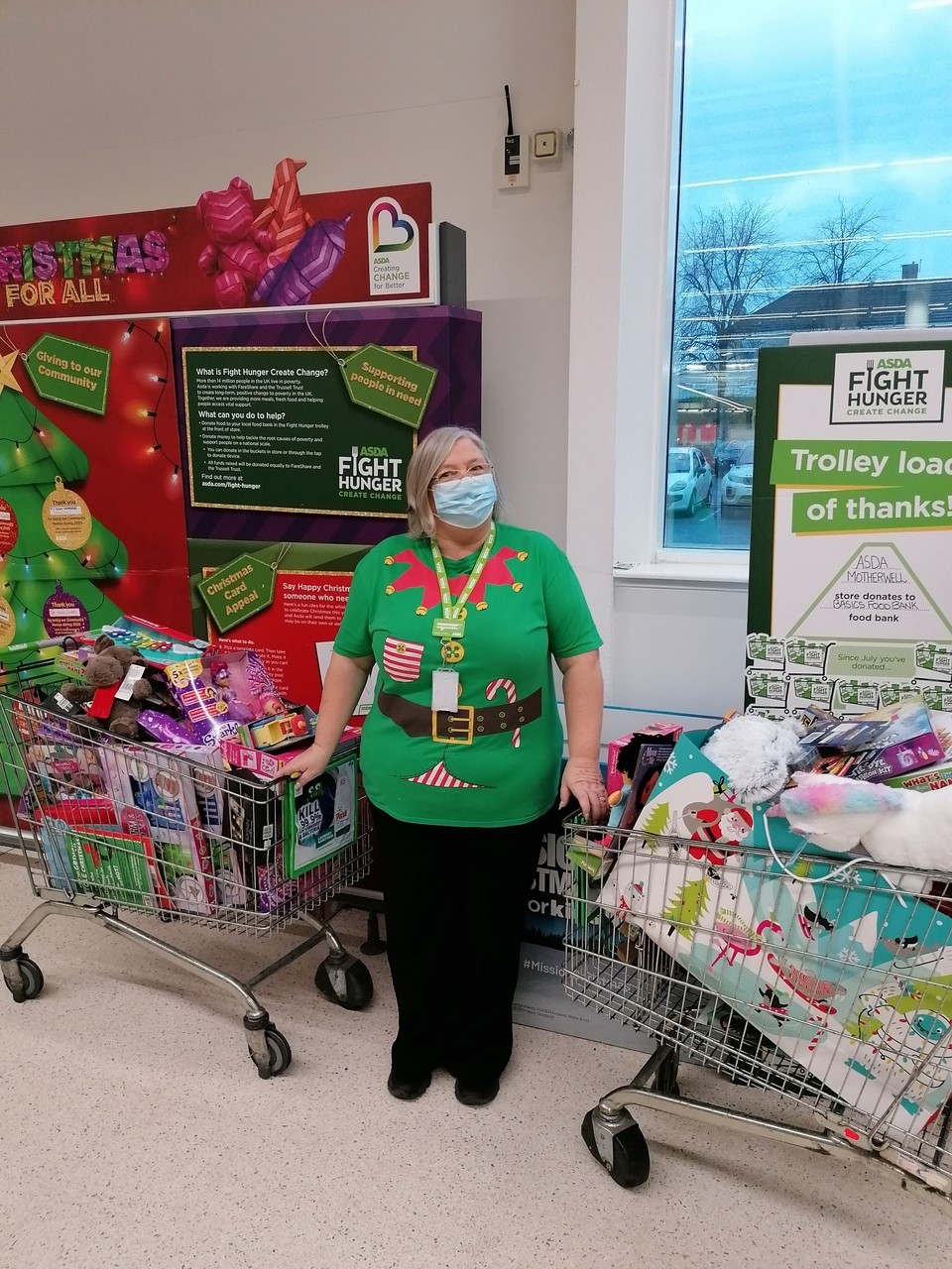Christmas toy appeal | Asda Motherwell