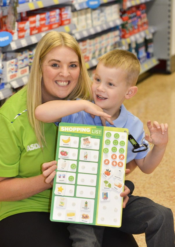 Jenny's Happy Little Helpers cards are now in Asda stores nationwide