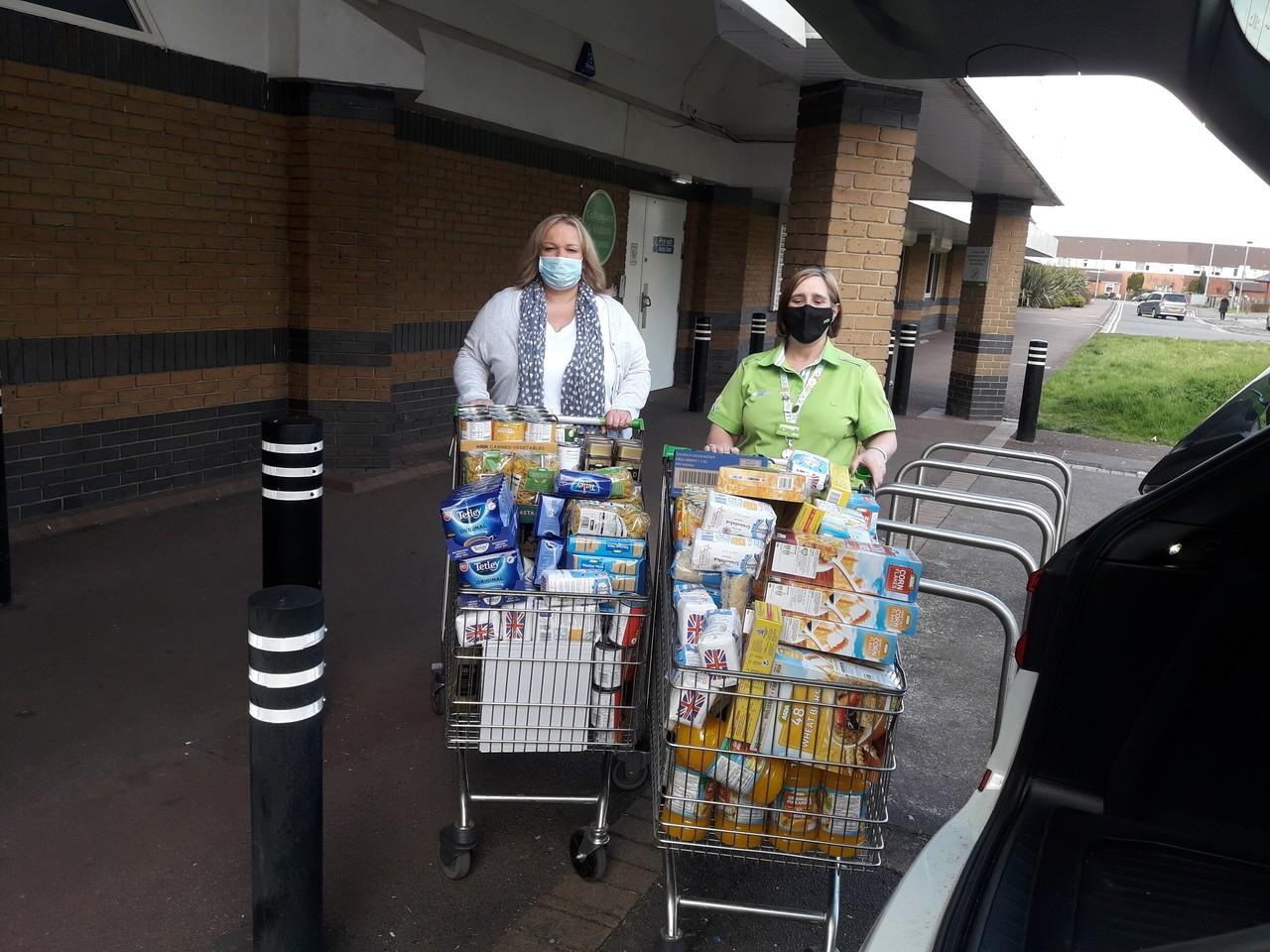 Foodbank grant | Asda Newport