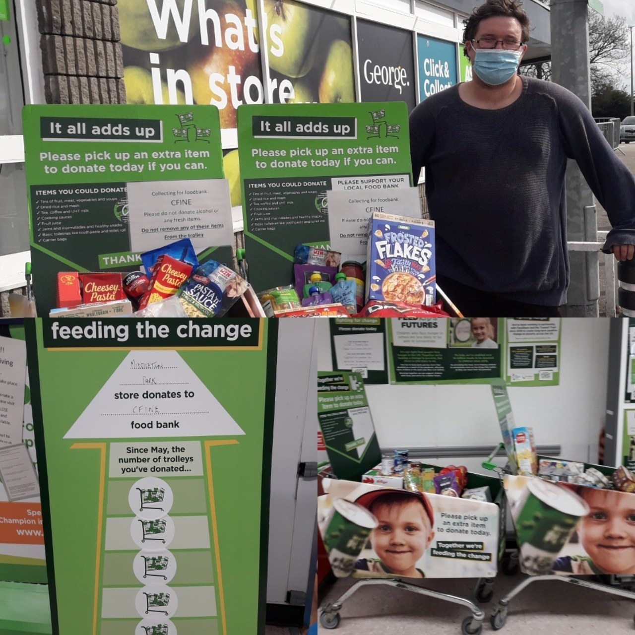 Fight Hunger support | Asda Middleton Park