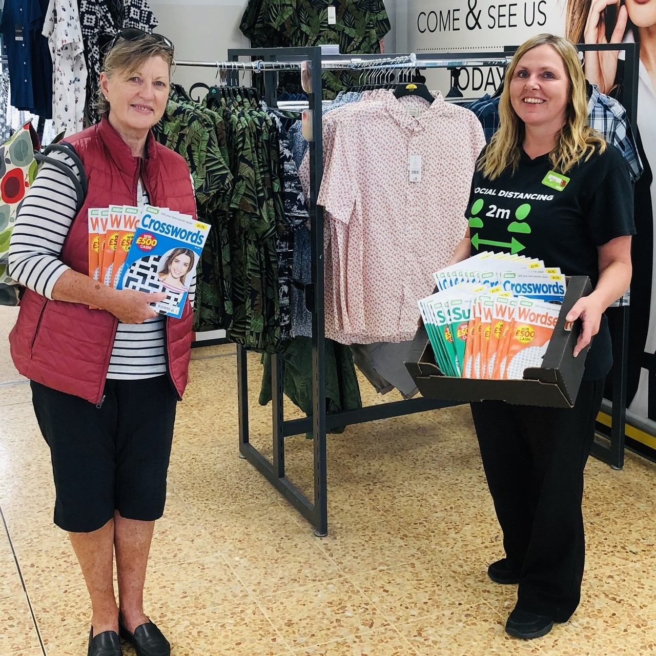 Charity donation | Asda Waterlooville
