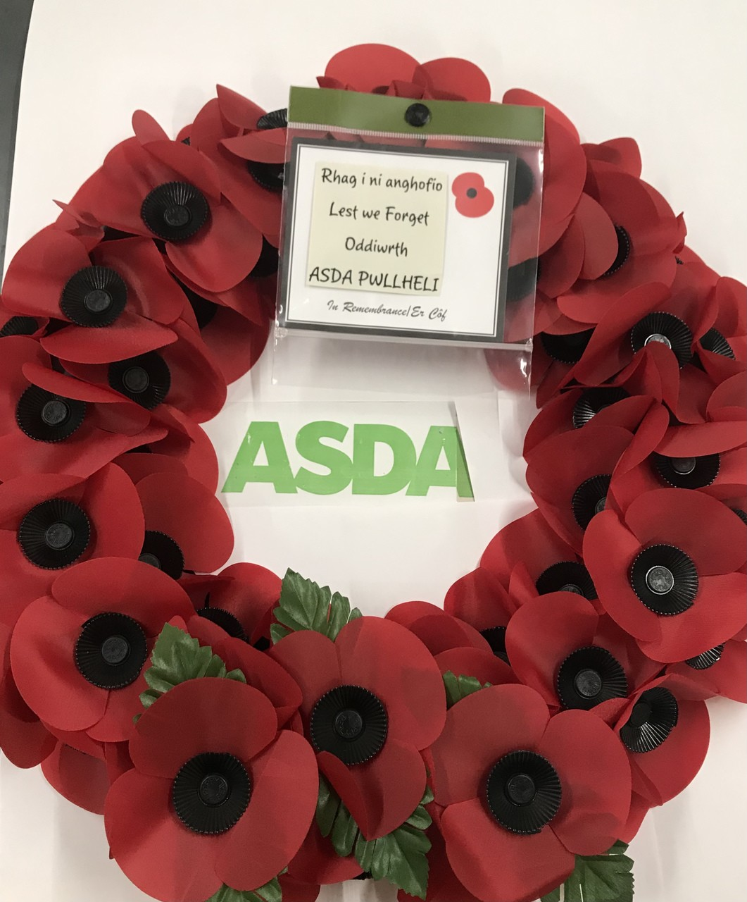 Always remembering | Asda Pwllheli