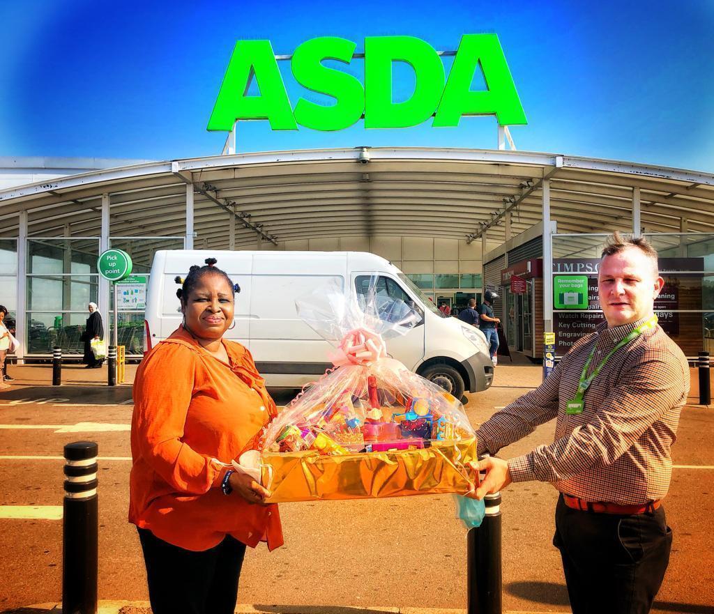 Donation for SADS UK fundraising | Asda Leyton Mills