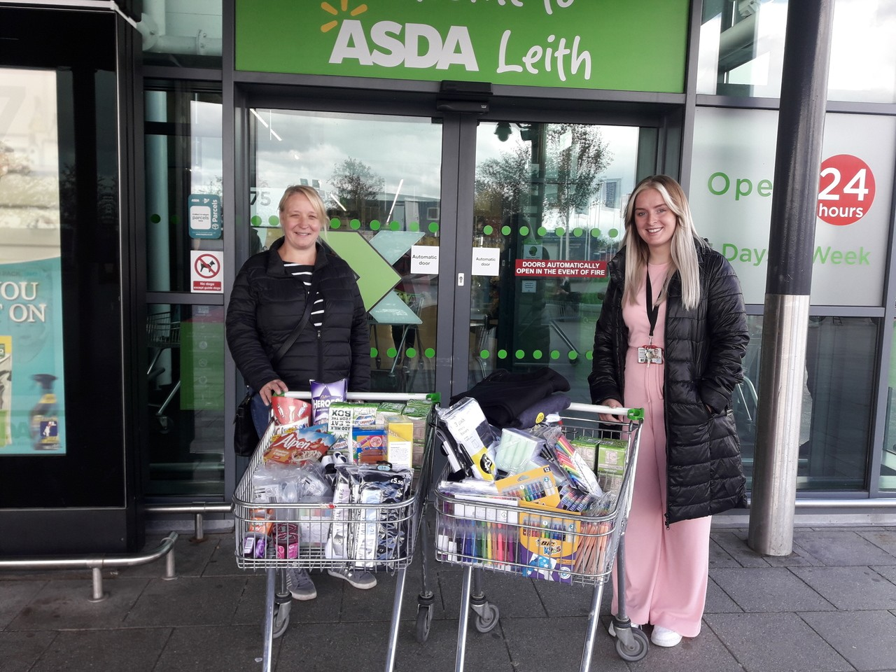Supporting our community | Asda Leith
