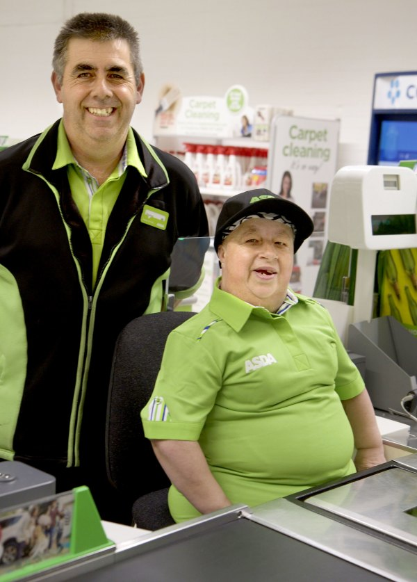 Brother and sister Stephen Flack and Janet Spurgeon have worked at Asda South Woodham Ferrers for more than 30 years