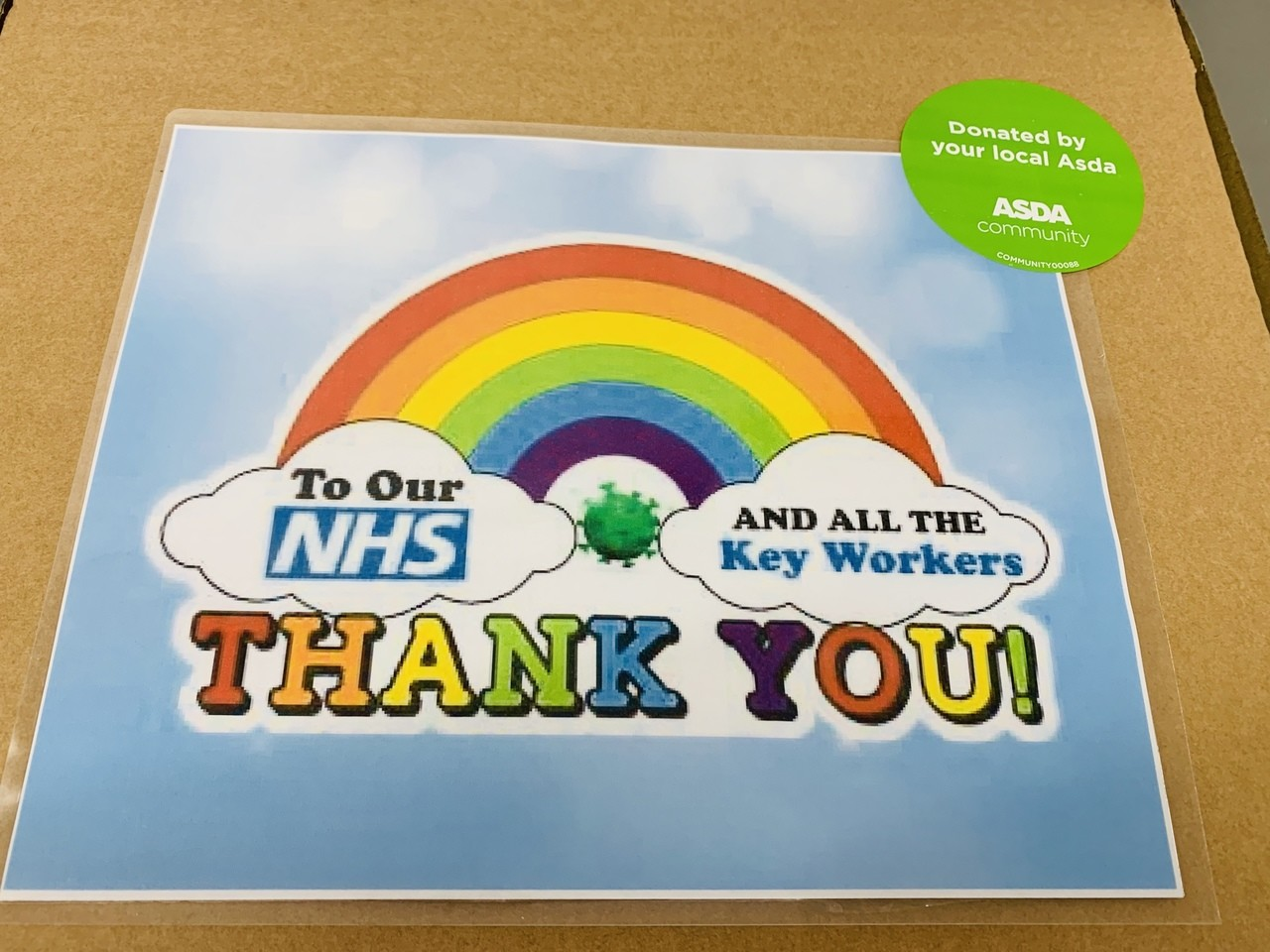 Donation to our local Hospital  | Asda Dewsbury