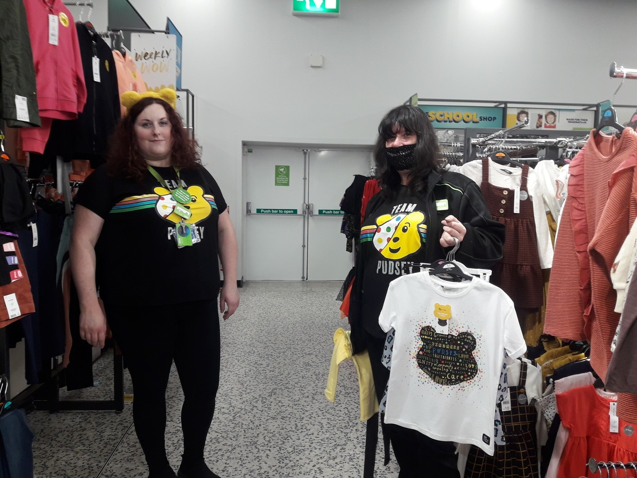 Children in Need fun | Asda Bournemouth