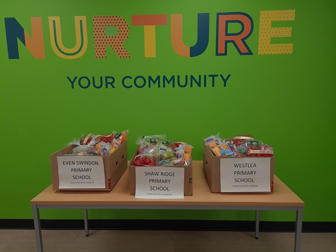 Helping the local schools | Asda West Swindon