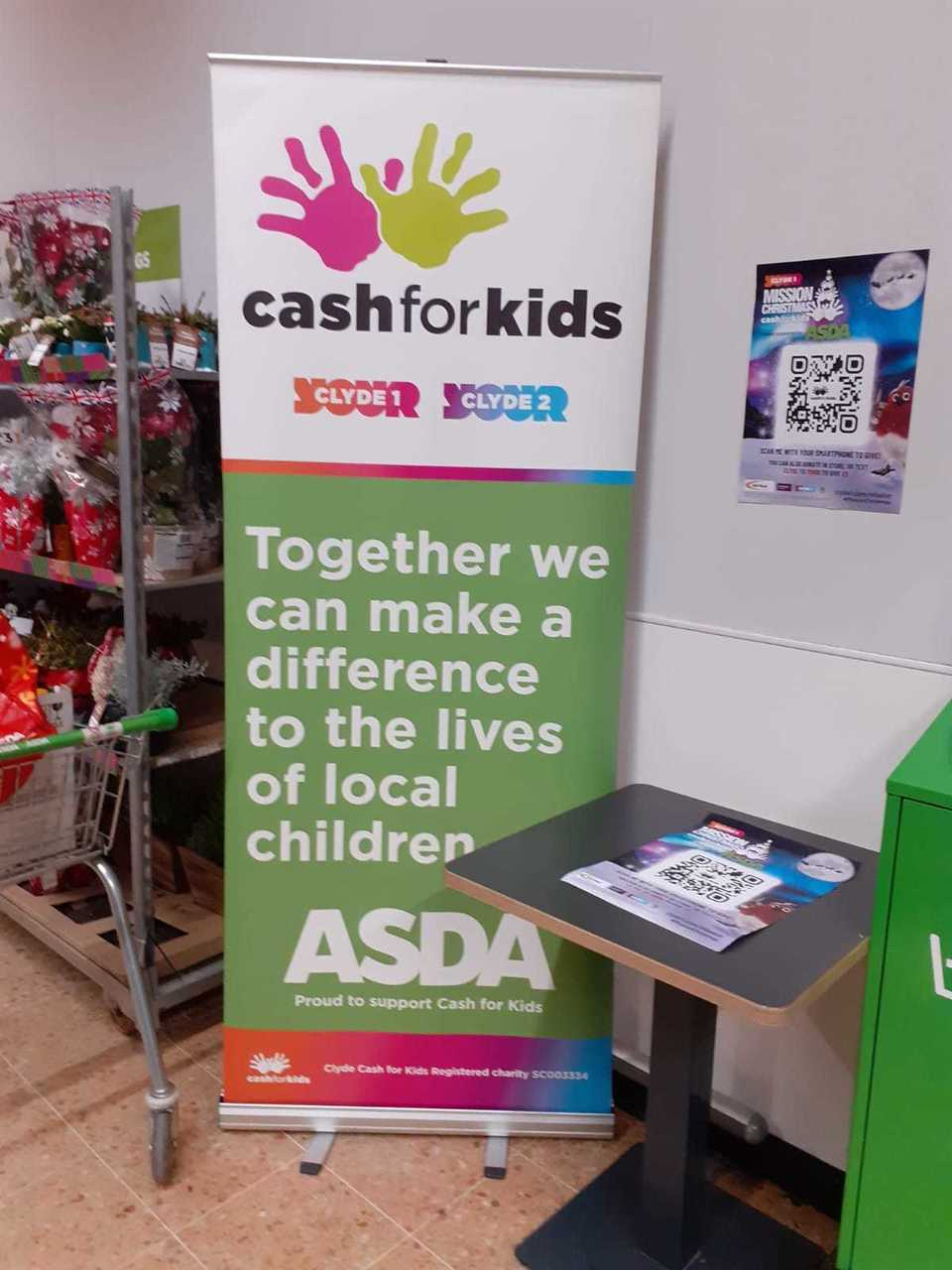 Cash 4 Kids Day | Asda Blantyre