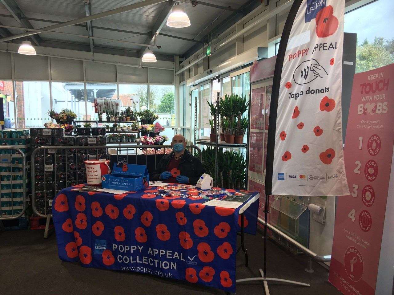 Poppy Appeal  | Asda Wheatley