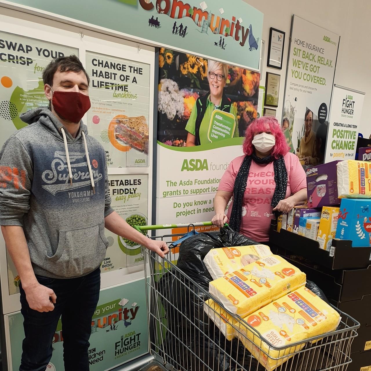 Food bank donation | Asda Leicester
