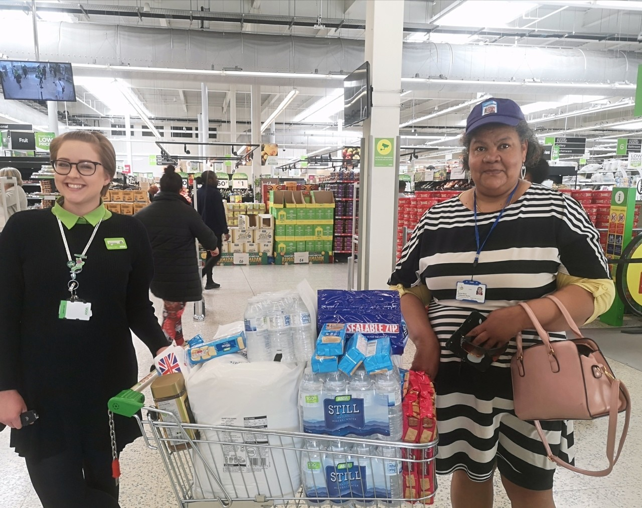 Supporting amazing volunteers | Asda Barking