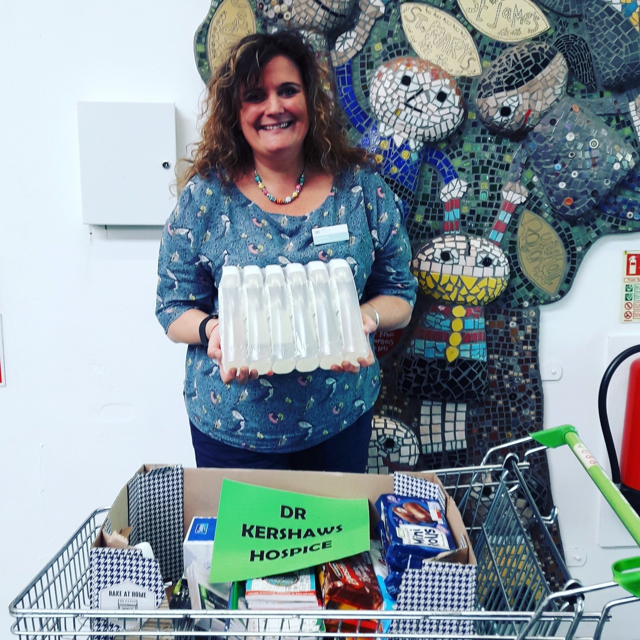 Donations to Dr Kershaw's Hospice andNorth Manchester Hospital | Asda Shaw