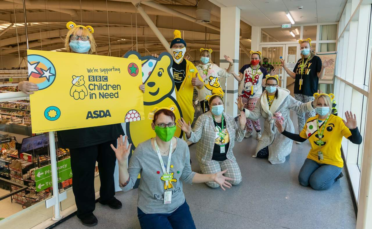 Stafford Children In Need fun! | Asda Stafford