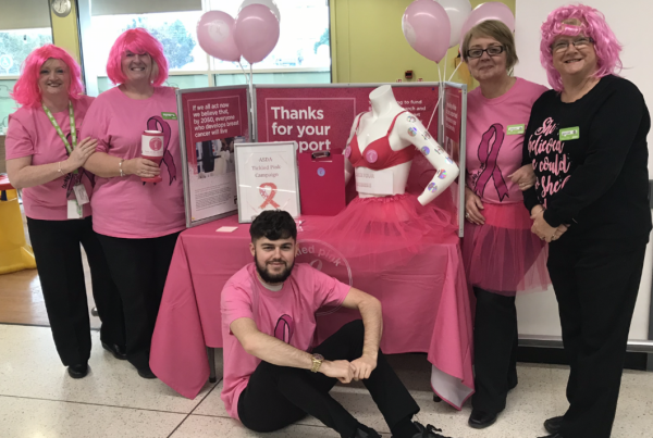 Tickled Pink colleagues at Asda Ayr