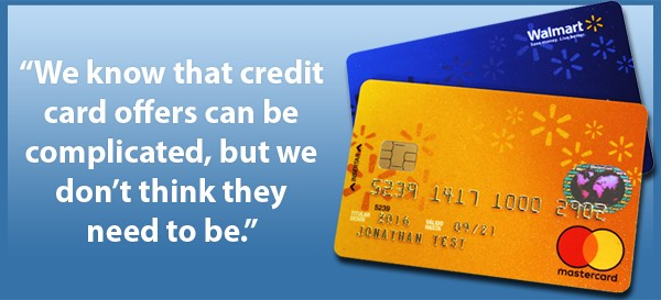 Walmart No Credit Check Financing >> We Re Taking A New Approach To Our Credit Card Here S Why