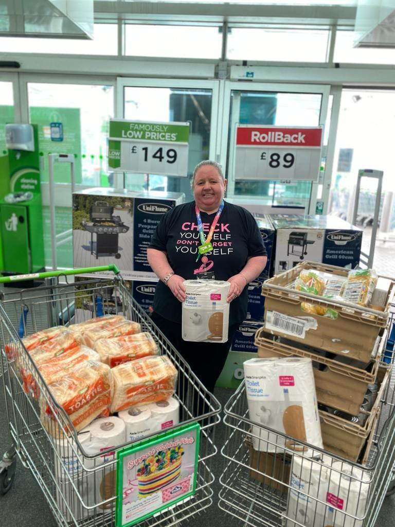 Fusion Food Bank support | Asda Dewsbury