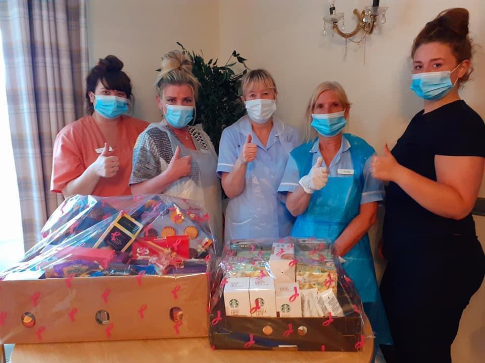 Donation to local care home from Asda Hartlepool | Asda Hartlepool
