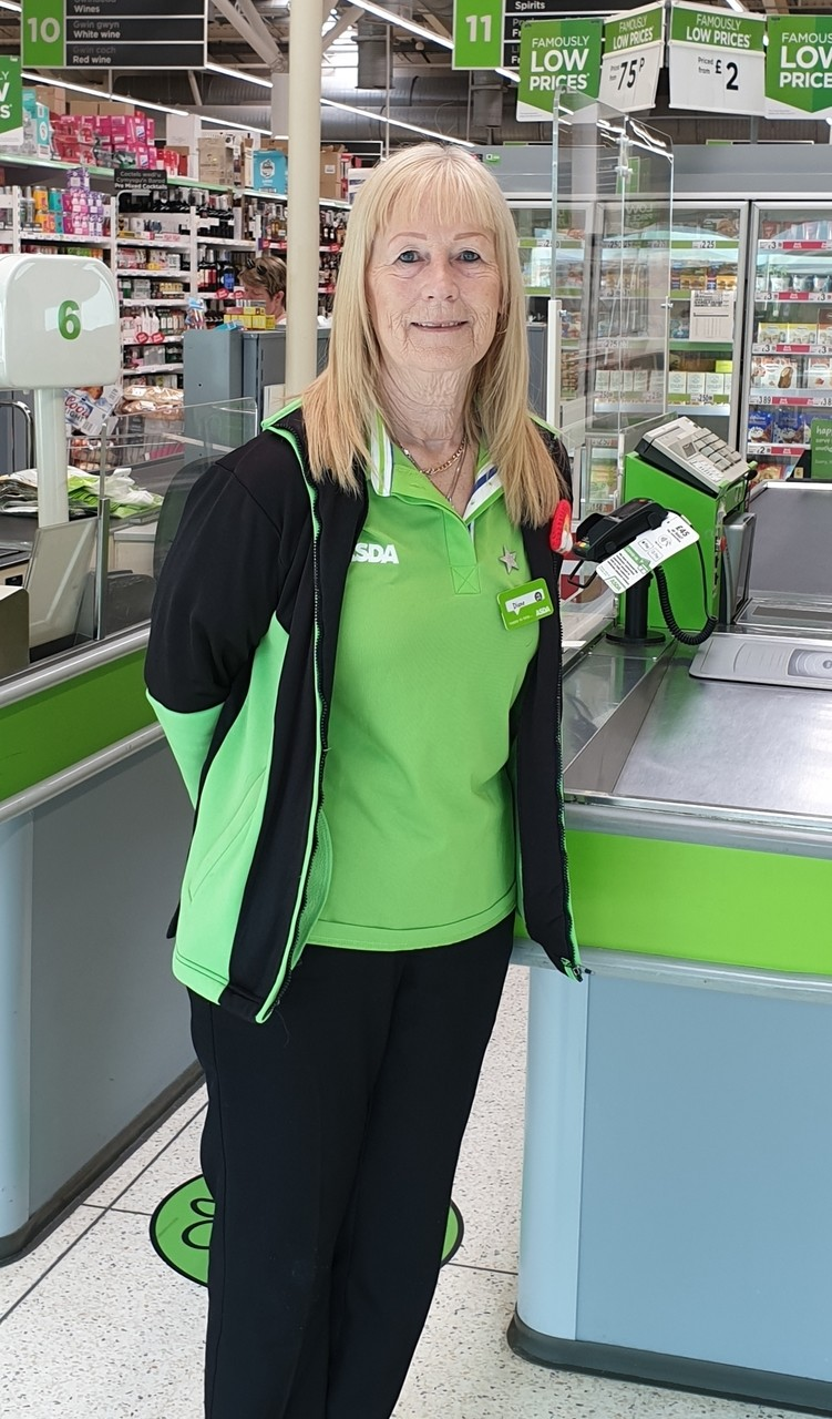 Diane at Asda Cwmbran goes out of her way to help vulnerable customer | Asda Cwmbran