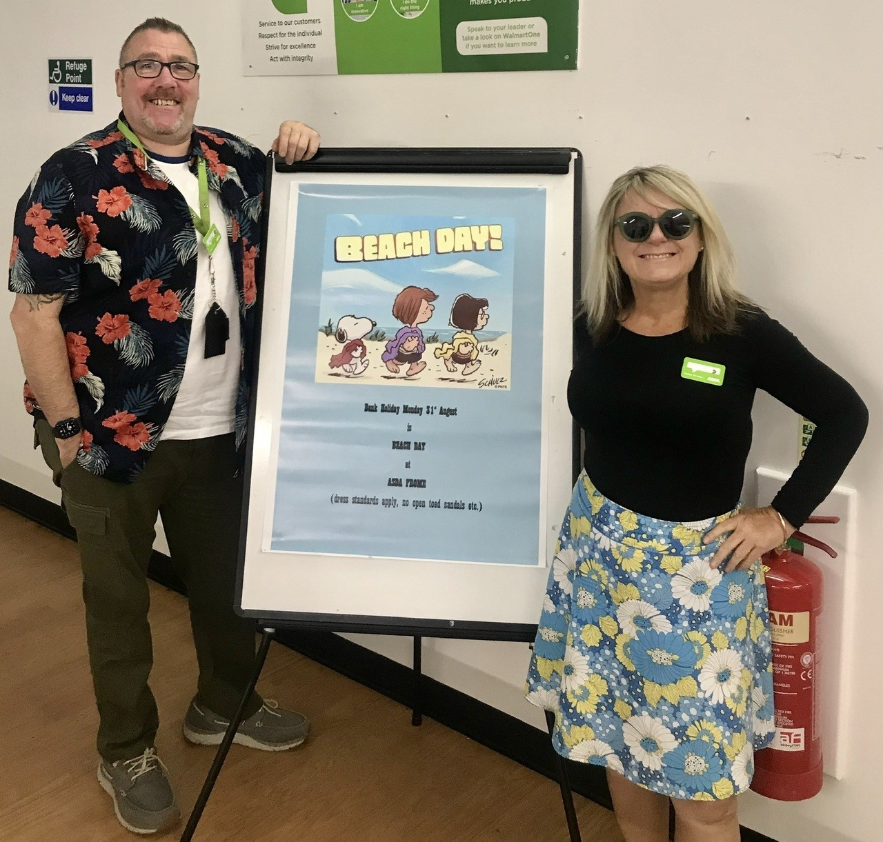 Beach Day at Asda Frome  | Asda Frome
