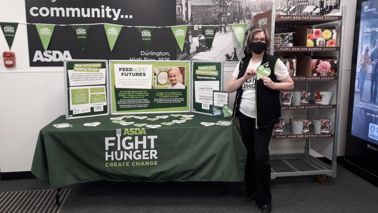 Fighting hunger together | Asda Darlington
