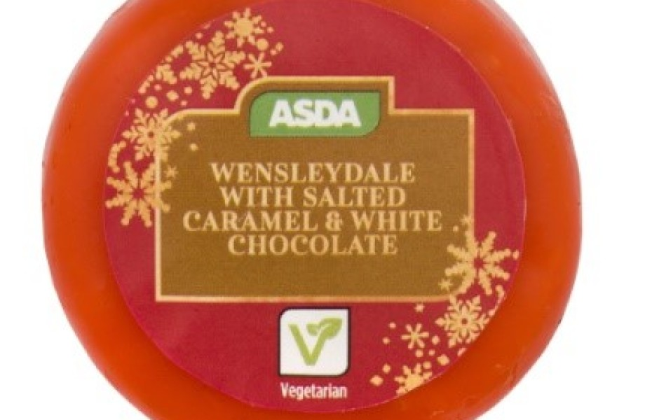 Wensleydale with Salted Caramel & White Chocolate