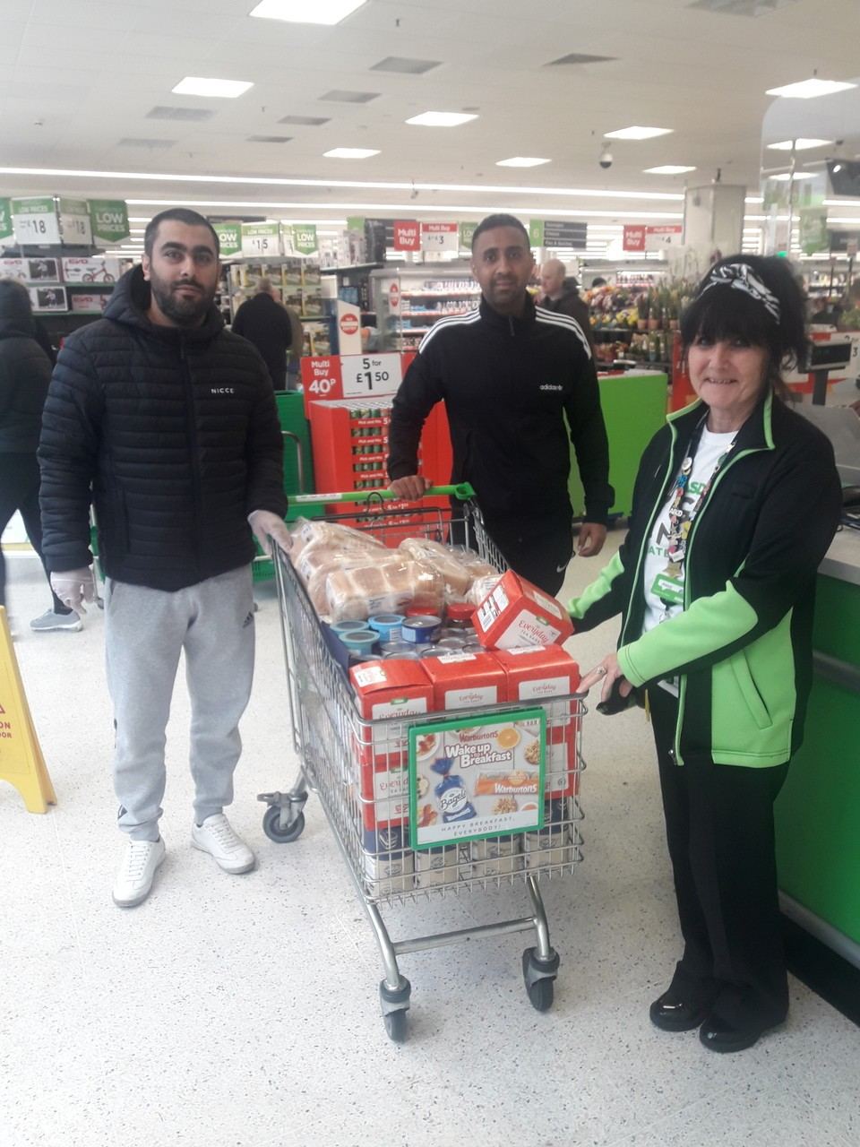 Ghausia Mosque donation | Asda Huddersfield