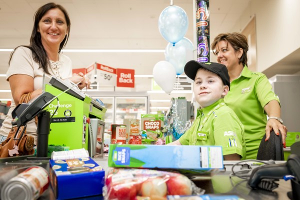 Asda Sutton in Ashfield arrange a birthday treat for Owen Porter