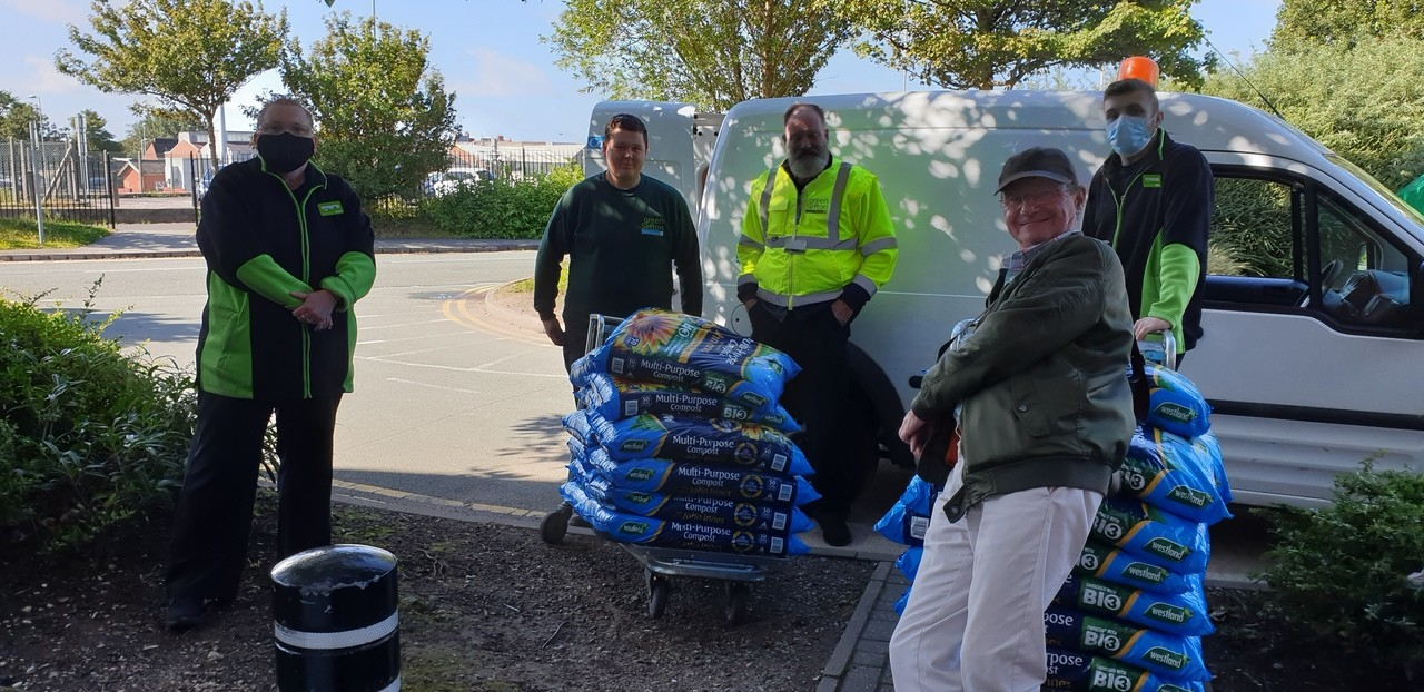 Kings Gardens Donation | Asda Southport