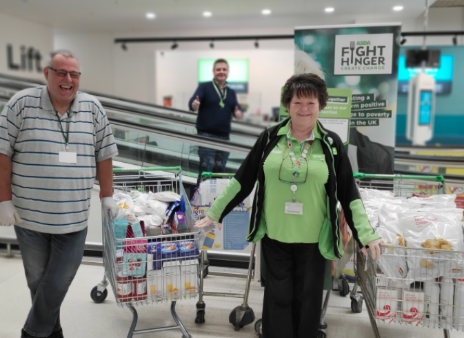 Food bank support from Asda Watford | Asda Watford