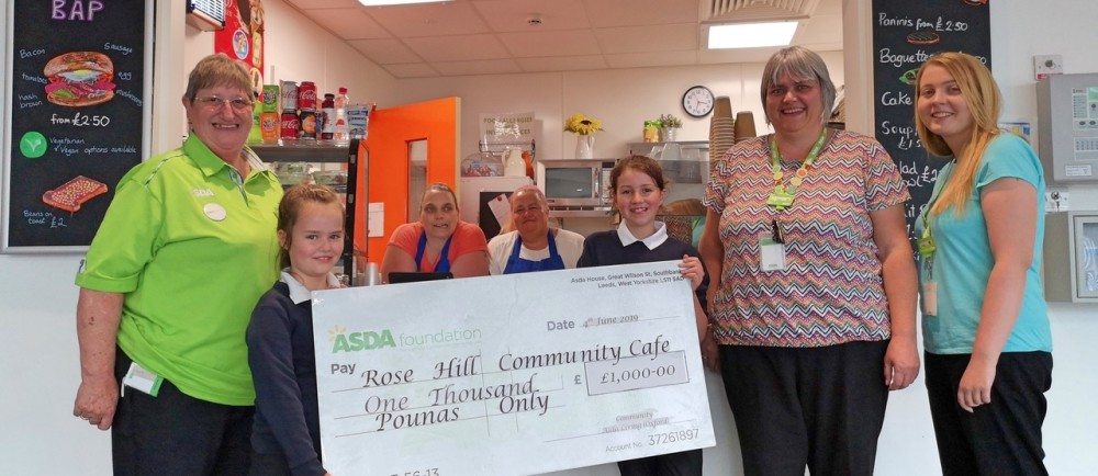 Asda Oxford Living grant for Rose Hill Community Cafe
