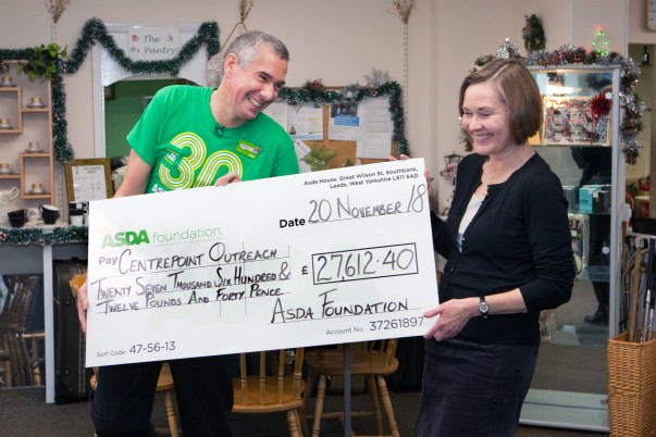 Asda Foundation 30th anniversary donation - Boston