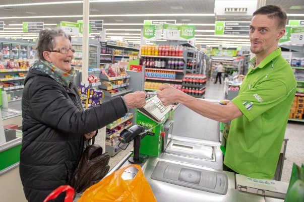 Tom Hines at Asda Eastbourne is  popular with customers and colleagues alike