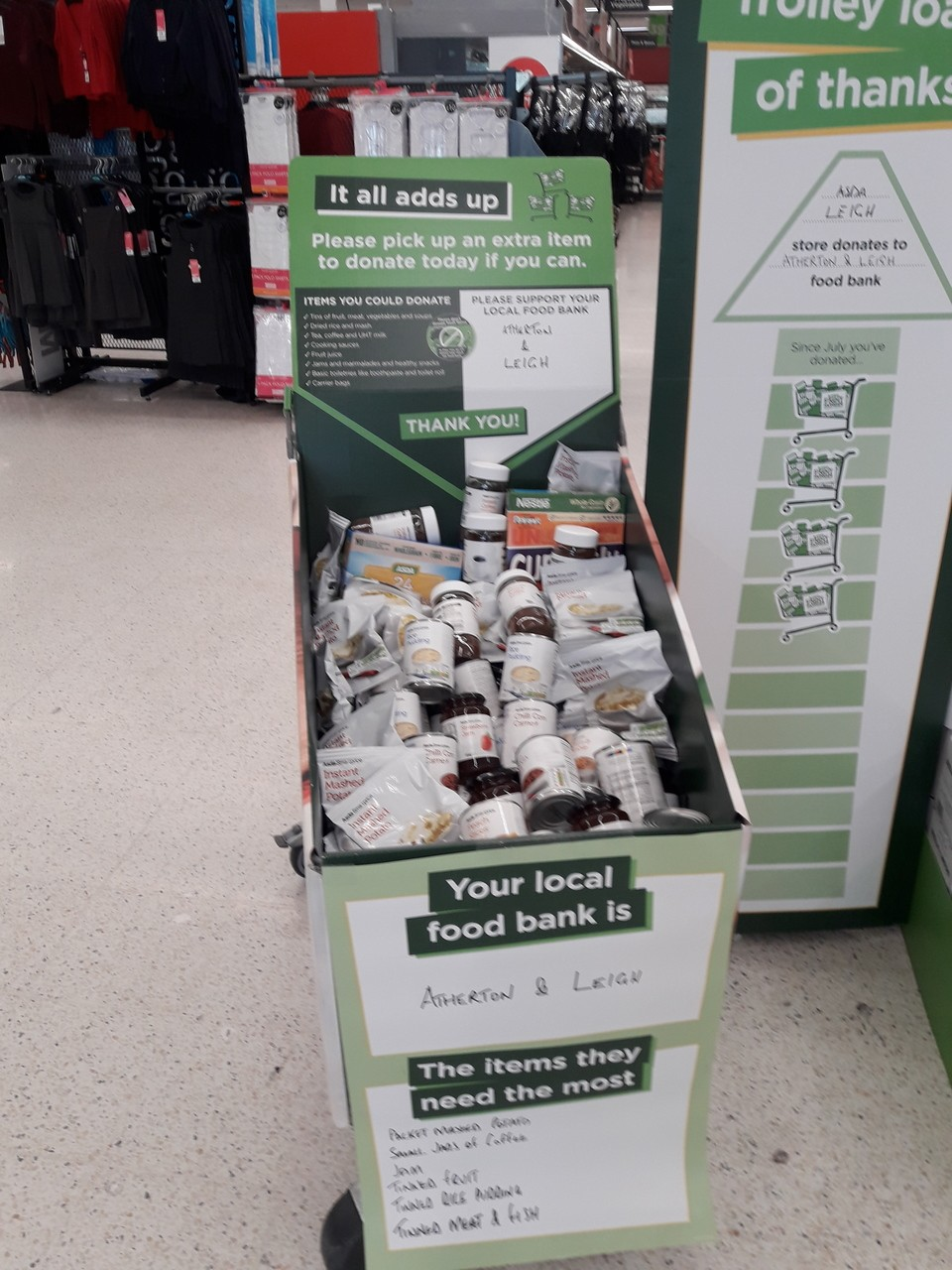 Fight Hunger  | Asda Leigh