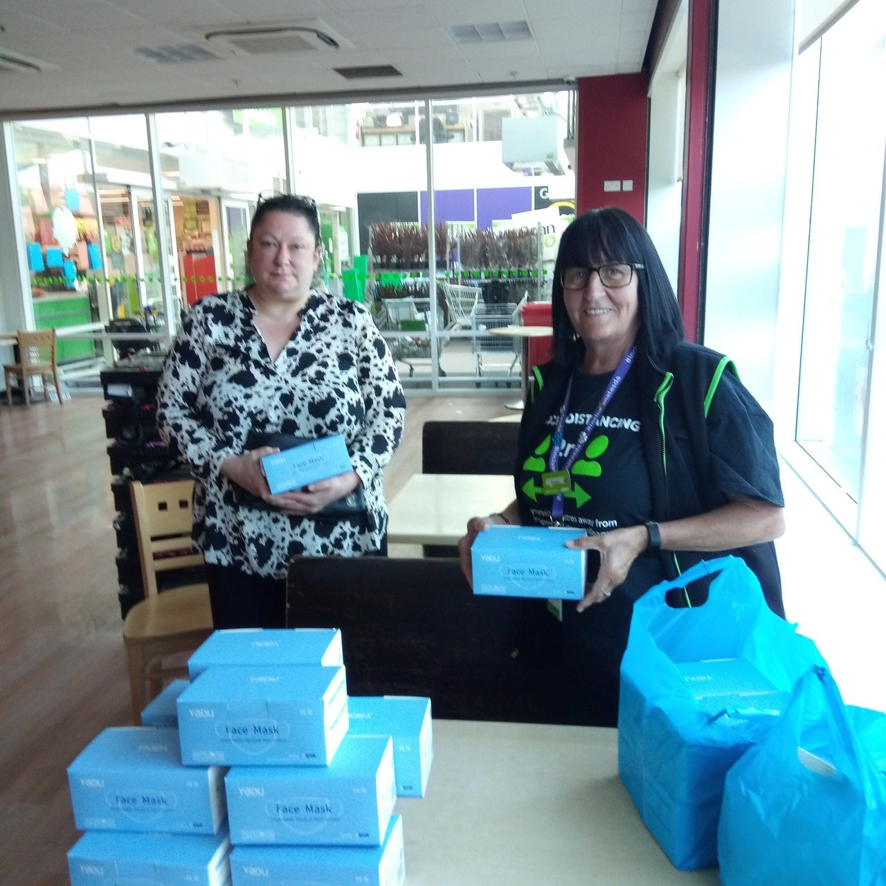 Donation of 800 face masks  | Asda Broadstairs
