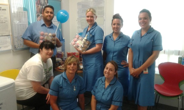 Asda Colne celebrate the NHS 70th anniversary