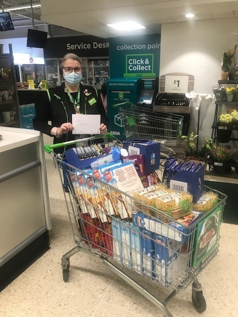 Helping Valleyfield pantry | Asda St Leonards