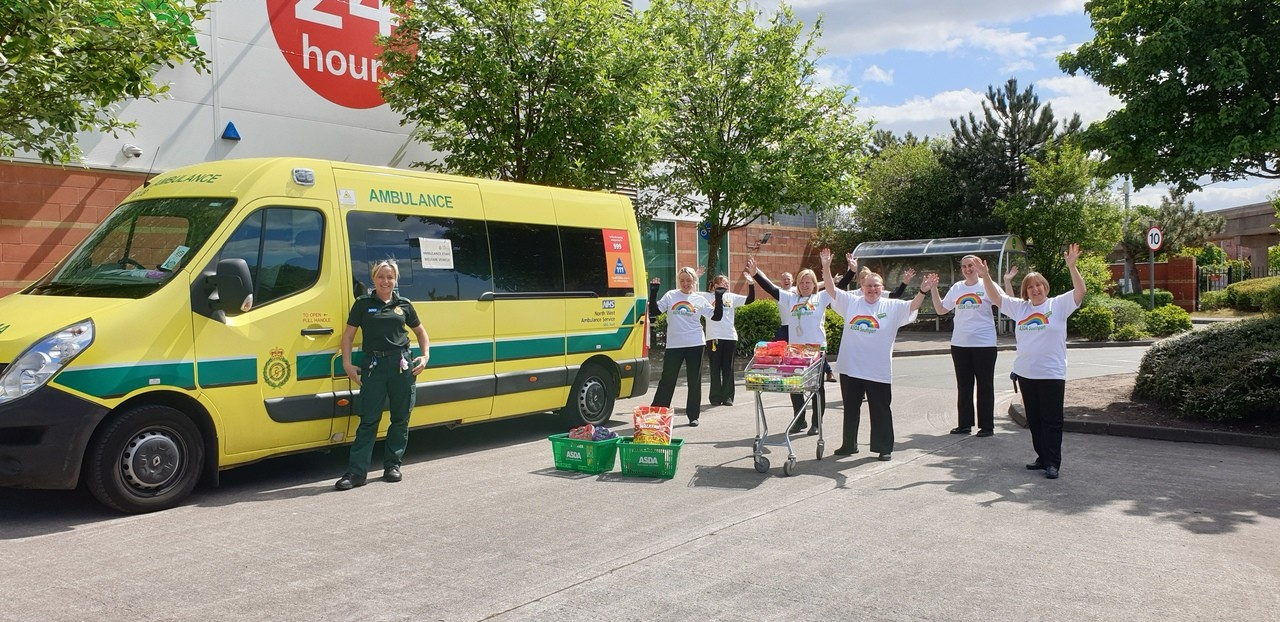 Donation to ambulance Service | Asda Southport