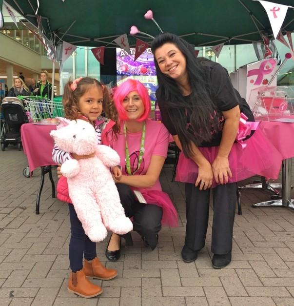 Breast cancer survivor backs our Tickled Pink campaign